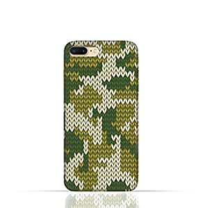Apple iPhone 7 TPU Silicone Case with Knitted Camouflage Pattern