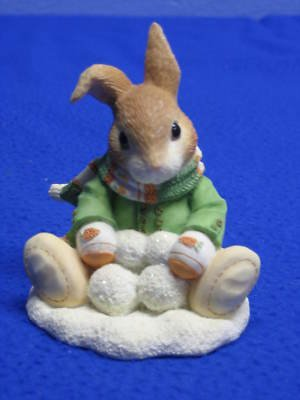 "My Blushing Bunnies ""Sno' Ball When You're Not Here"" 178667 by ENESCO"