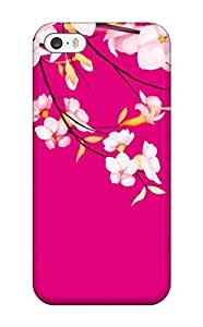New Arrival Premium For Iphone 5/5S Phone Case Cover (pretty Spring Flowers )(3D PC Soft Case)