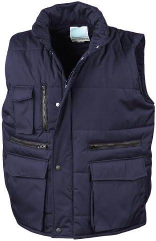 Textilien Result Workguard Gilet Bodywarmer blau 3XL