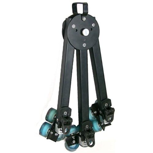 Battle Tested Film Gear 954-TDL-275 Proaim Dolly with 12-Feet Straight Track (Black)