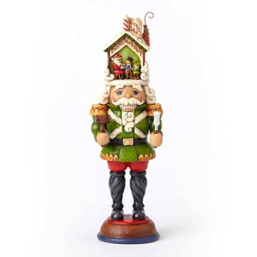 Heartwood Creek Jim Shore Time for Tinkering Toy Soldier Santas Workshop Hat Nutcracker 4055054