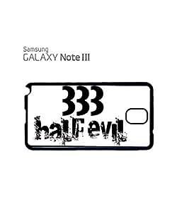 333 Half Evil Devil Mobile Cell Phone Case Samsung Note 3 White