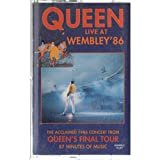 Queen: Live At Wembley '86 Cassette VG++ Canada Hollywood 96 11044