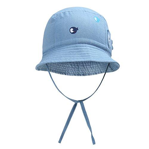4dc299e5b45d vivobiniya Baby Sun Hats Toddler Baby boy and Girl Cowboy Bucket hat 0-6Y