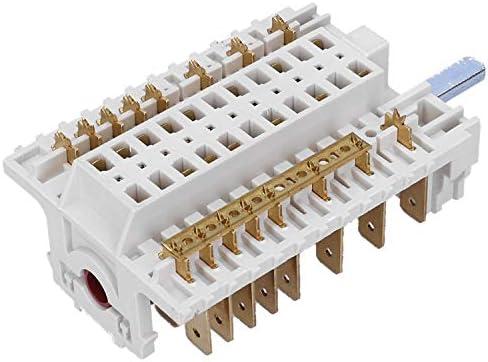 Wessper Conmutador Selector Interruptor para Indesit K341M(W)/U: Amazon.es: Grandes electrodomésticos
