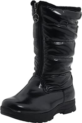 Amazon.com | Tundra Puffy Boot (Little Kid/Big Kid) | Boots