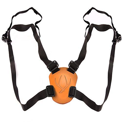 Solomark Deluxe 4 Way Adjustable Deluxe Binocular Strap, Black-binocular Harness