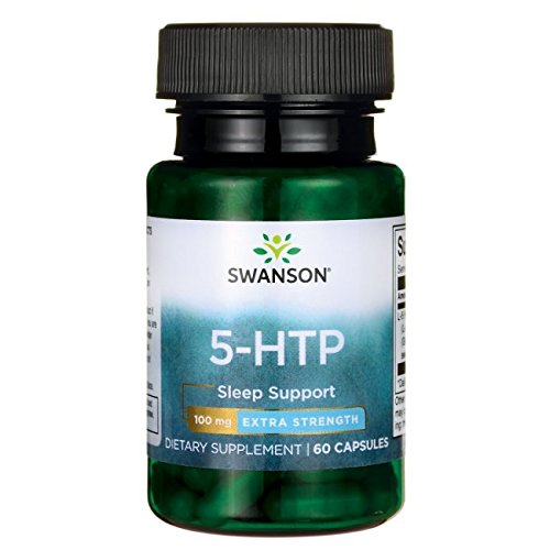 Swanson Amino Acid 5-Htp Extra Strength 100 Milligrams 60 Capsules (Best Price 5 Htp)
