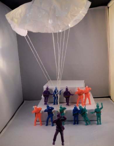 Party Toy Solutions: One Dozen Parachute Men