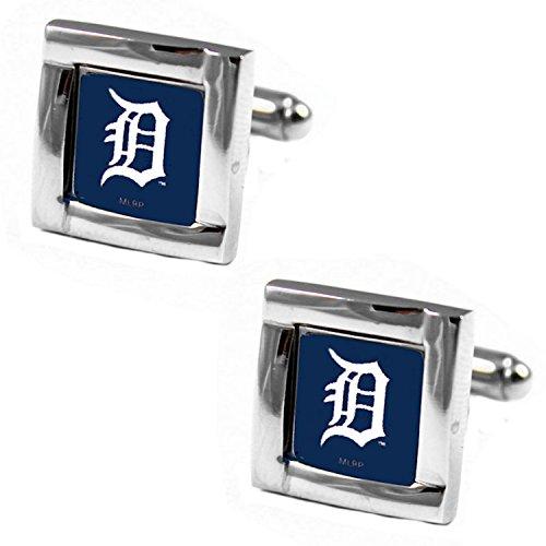 MLB Detroit Tigers Square Cuff Links