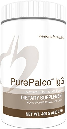 Designs for Health - Chocolate PurePaleo IgG - Protein Powder with BCAAs + Immunoglobulin, 405g by designs for health (Image #8)