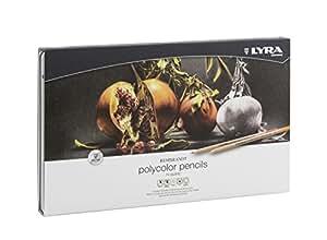 LYRA Rembrandt Polycolor Art Pencils, Set of 72, Assorted Colors (2001720)
