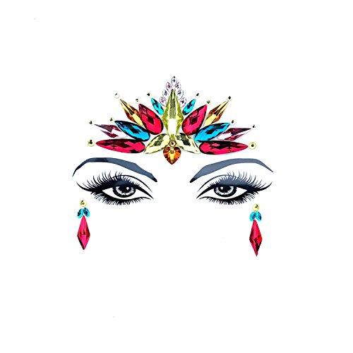 Neva Nude Arabian Knights Crystal BodiStix In Your Face Edition Sticker -