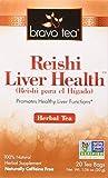 Bravo Teas Reishi Liver Health, 20 Tea Bags For Sale
