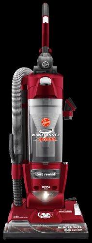 0786fdf97fa Hoover U5780900 WindTunnel + Cyclonic Bagless HEPA Upright Vacuum Cleaner