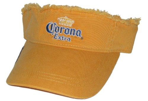 Corona Extra Frayed Tangerine Orange Visor
