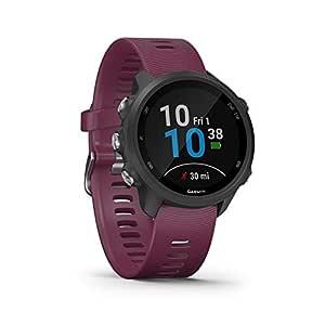 Garmin Forerunner 245 – GPS-löparklocka med individuella träningsplaner, speciella löpfunktioner och detaljerad träningsanalys. Färgskärm, batteritid i upp till 7 dagar, vattentät