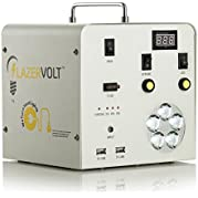 BLACKOUT RELIEF POWER SOURCE Portable Solar Powered Rechargeable Pack - No Fumes - No Noise - Just POWER!