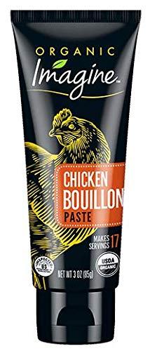 Organic Imagine Chicken Bouillon Paste, 3 oz (Pack of 12)