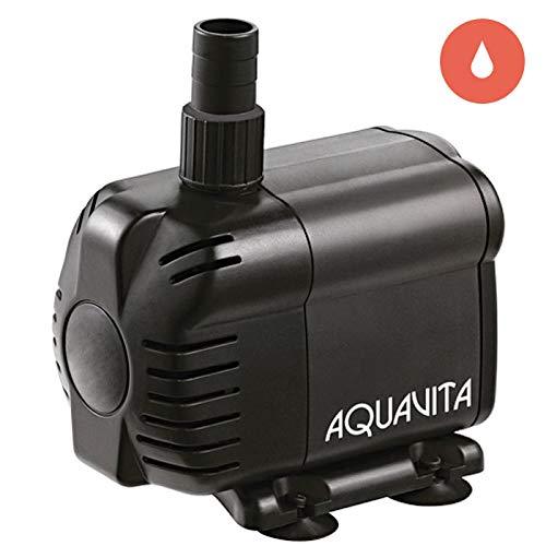 AquaVita 660 Hydroponic Grow Plant Care Submersible/In-Line Aquarium Tank Water Pump