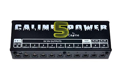 Caline CP- 05 Gitarren- Effektpedale Stromversorgung 8 Way DC 9V 1 Way DC 12V 18V 1 Way