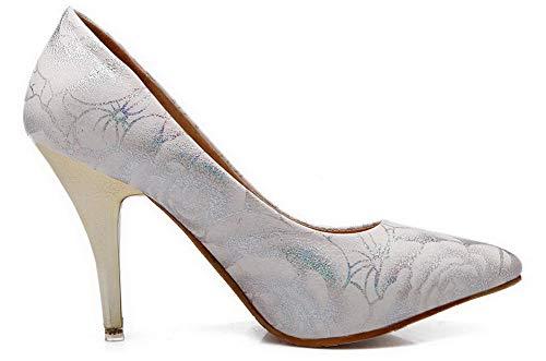 L Femme Agoolar Fermeture D'orteil Chaussures wIRdvxqURp
