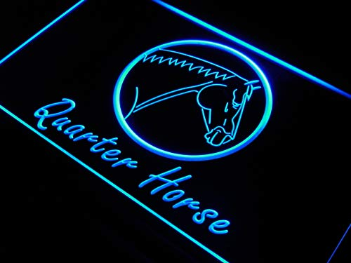ADVPRO Cartel Luminoso j886-b Quarter Horse Model Display ...