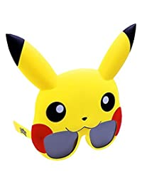 Costume Sunglasses Pokemon Pikachu Sun-Staches Party Favors UV400