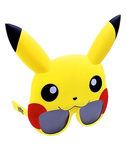 Sun-Staches Costume Sunglasses Pokemon Pikachu Party Favors UV400]()