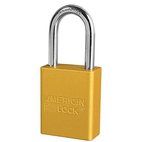American Lock A1106YLW Padlock Aluminum product image