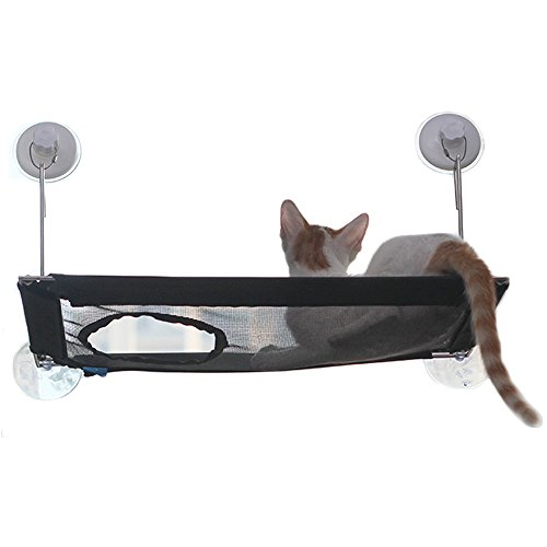 [Strong Suction Cup]Cat Window Perch - Wireless Cat Hammo...