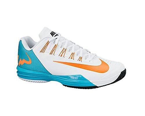 Chaussures Pour Ballistec Nike Bleu Lunar Hommes Tennis De Orange Blanc PwR4rqOPn