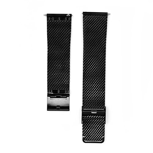 Fitian 23mm Mesh Stainless Steel Watch Band Metal