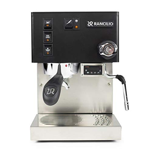 Rancilio Silvia Semi-Automatic Espresso Machine w/PID Controller Installed (Limited Edition Black) by Rancilio (Image #1)