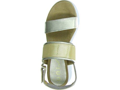Unisa Buce - Sandalias de vestir para mujer metálico