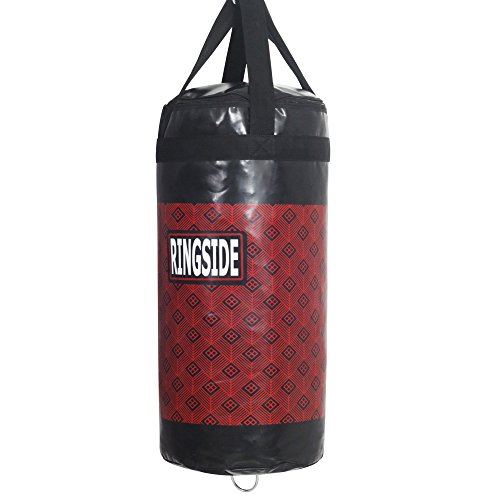 Ringside 40 Small Unfilled Punching Bag, Red, 14x30