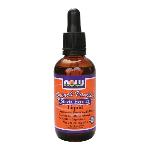 Now Foods BetterStevia Liquid Extract (French Vanilla) - 2 oz. 4 Pack