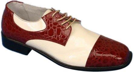Chaussures Rouges Gator Rouges Pour Hommes En Rouge (pointure 9)