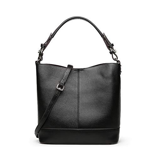 à Sac à PU bandoulière Black Lady Sac main à modèle Lychee Sac moyen à bandoulière sac bandoulière sac wgzqR