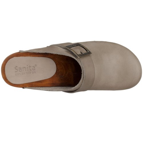 Leather Open Urban Sandals 20 Grey Sanita Womens E7WTZ8nxWA