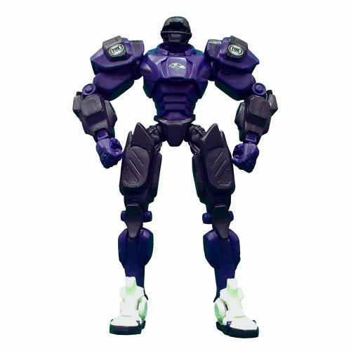 NFL Baltimore Ravens Fox Sports Team Robot, 10-inches