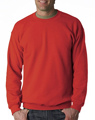 Gildan Men's Heavy Blend Crewneck Sweatshirt - XXXX-Large - -