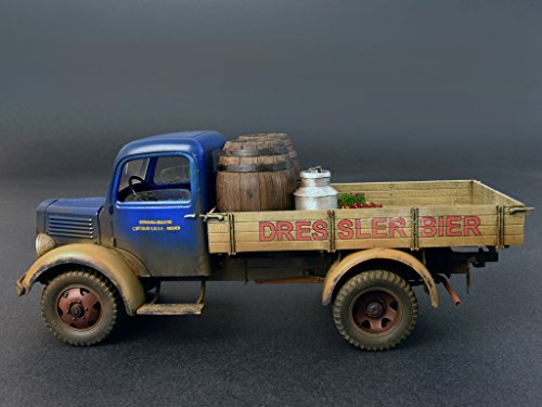 Amazon.com: Miniart 1:35 - German Cargo Truck L1500s: Toys ...