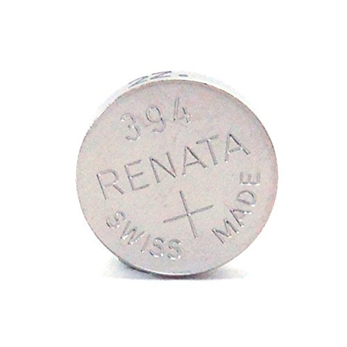 Renata 394  Cell Battery 0% Mercury 2-Pack - FREE SHIPPING