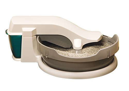 PetSafe Simply Clean Self-Cleaning Cat Litter Box, Automatic, Works with Clumping Cat Litter ()