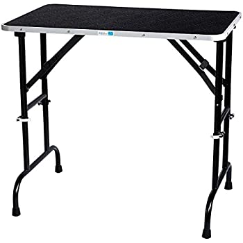 Beautiful Master Equipment Adjustable Height Grooming Table, 42 By 24 Inch