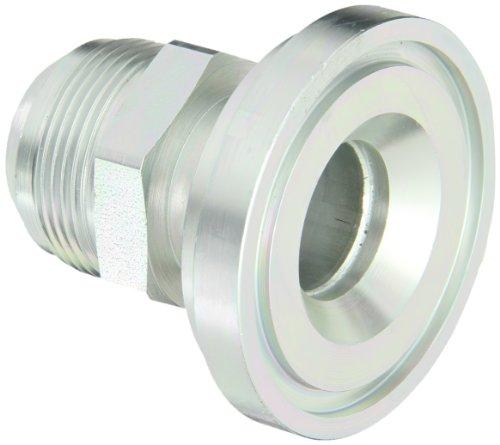 Eaton Aeroquip 500025-32-20S Split Flange Straight, JIC 37 Degree & Split Flange (Code 61) End Types, Carbon Steel, 1-1/4 JIC(m) x M26(m) End Size, 1-1/4