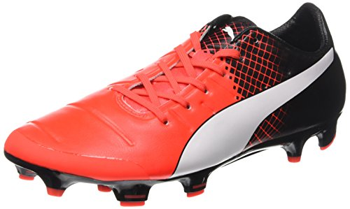 Puma Evopower 2.3 Chaussures De Football Au Sol, Gris / Orange, Us10