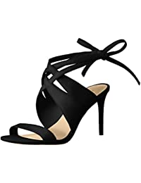 Nine West Women's Ronnie Suede Dress Sandal